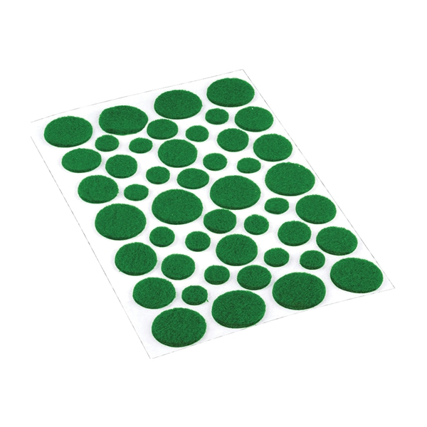 Picture of Shepherd Hardware 9423 Furniture Pad, Felt Cloth, Green, Round
