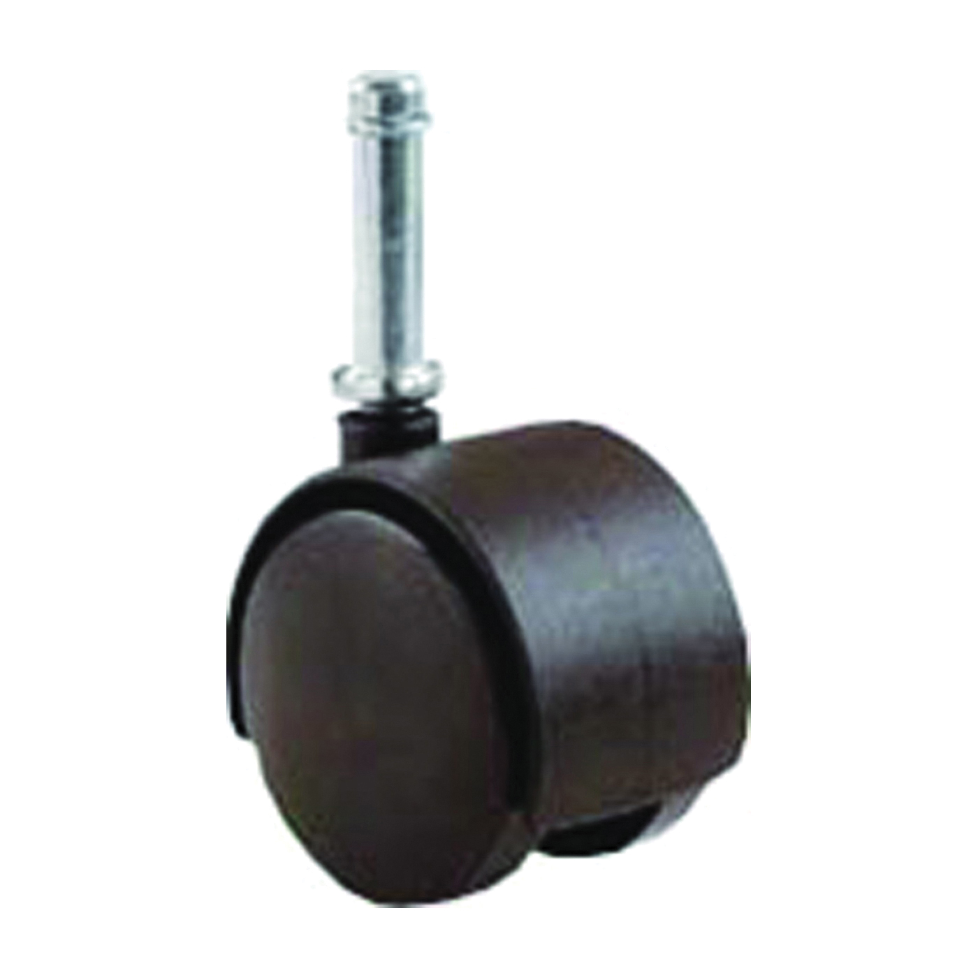 Picture of Shepherd Hardware 9673 Swivel Caster, 2 in Dia Wheel, Black, 75 lb
