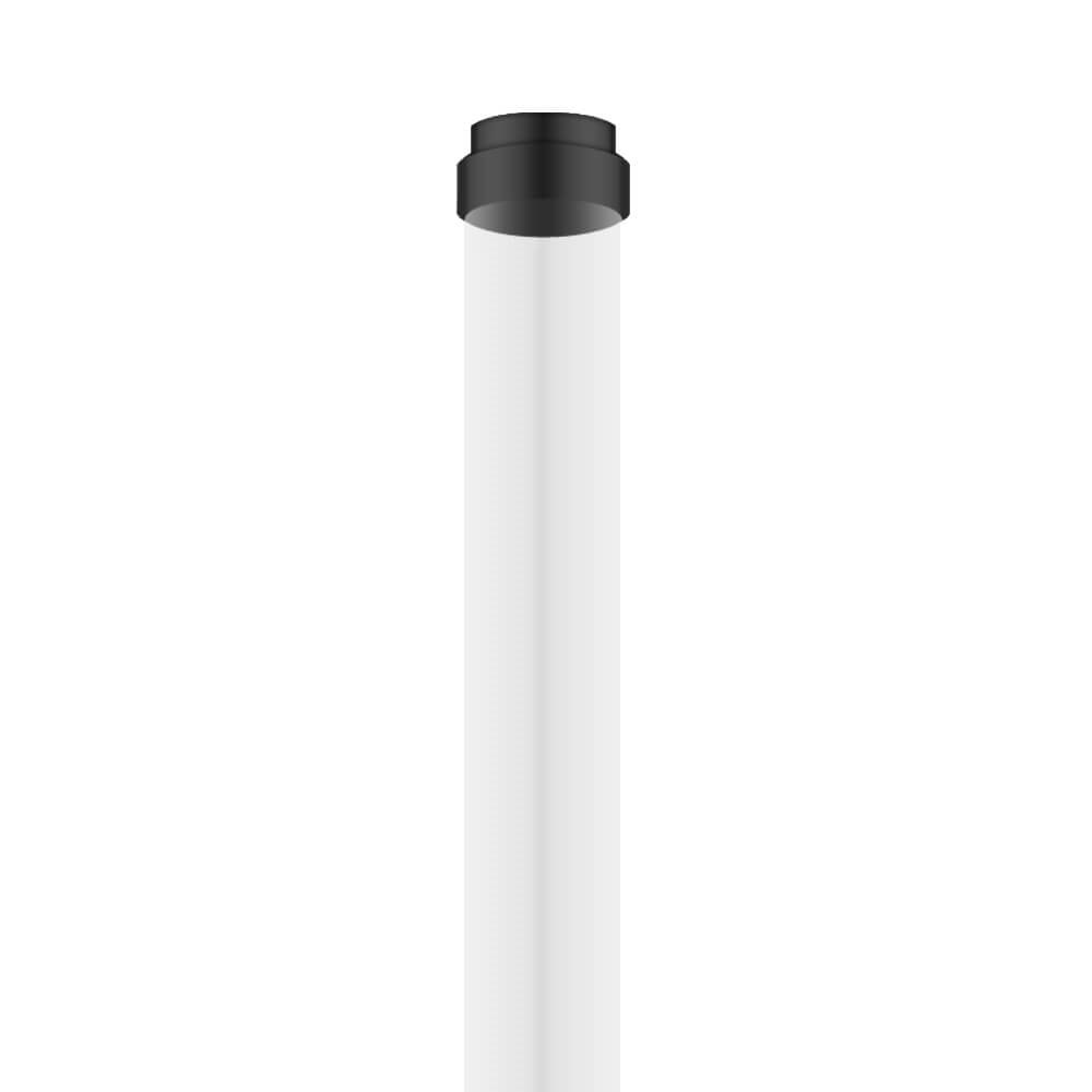 Picture of Feit Electric 4'PT Fluorescent Guard, Plastic, Clear, 48 in L Dimensions