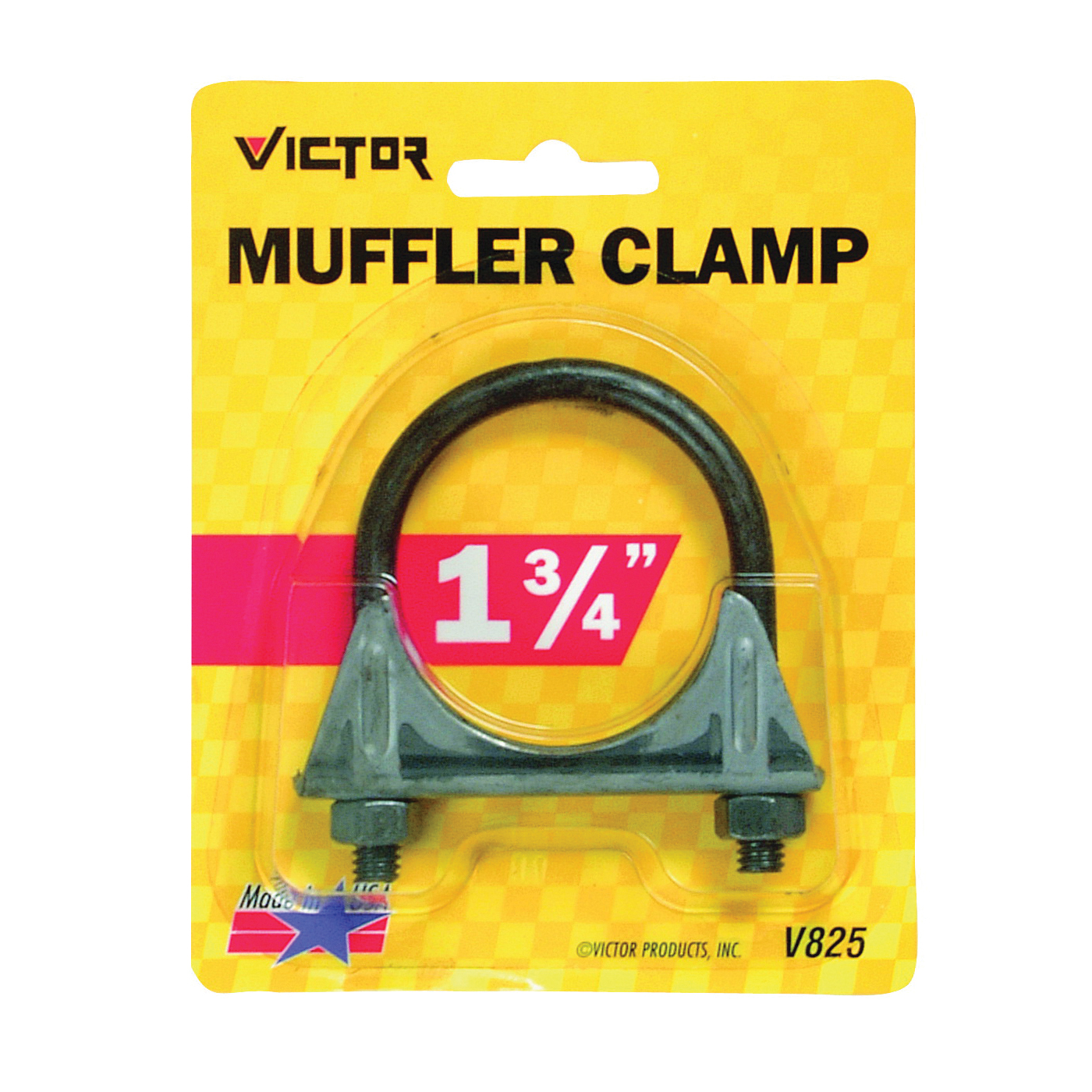 Picture of GENUINE VICTOR 22-5-00825-8 Muffler Clamp, Steel