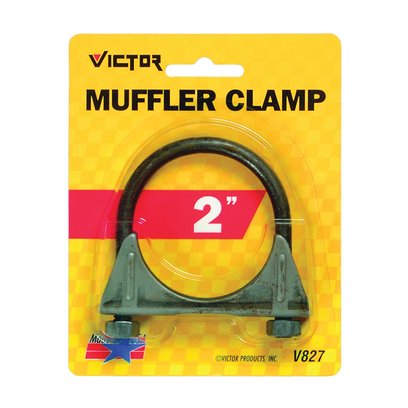 Picture of GENUINE VICTOR 22-5-00827-8 Muffler Clamp, Steel