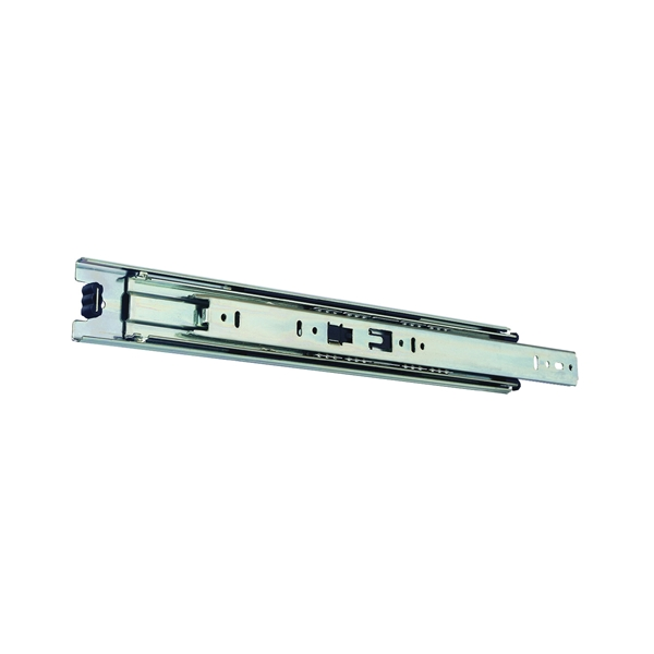 Picture of Knape & Vogt 8400P 18 Drawer Slide, 100 lb, 18 in L Rail, 1/2 in W Rail, Anochrome