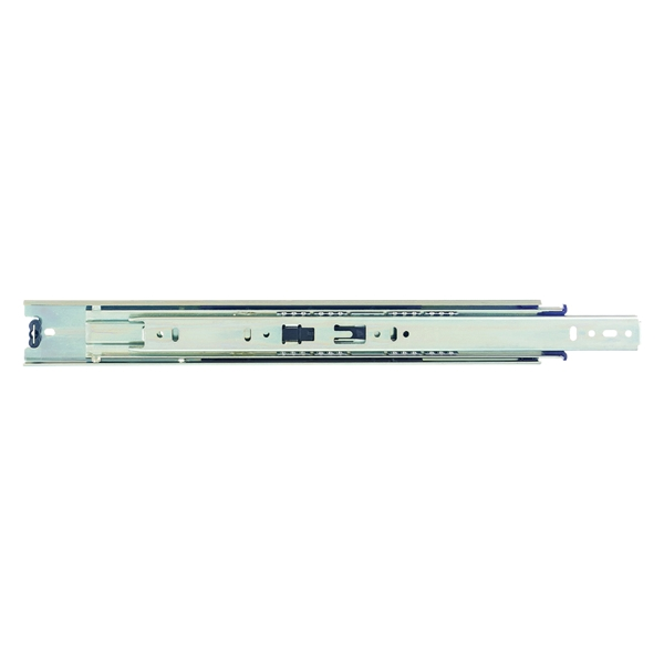 Picture of Knape & Vogt 8400P 22 Drawer Slide, 100 lb, 22 in L Rail, 1/2 in W Rail, Anochrome