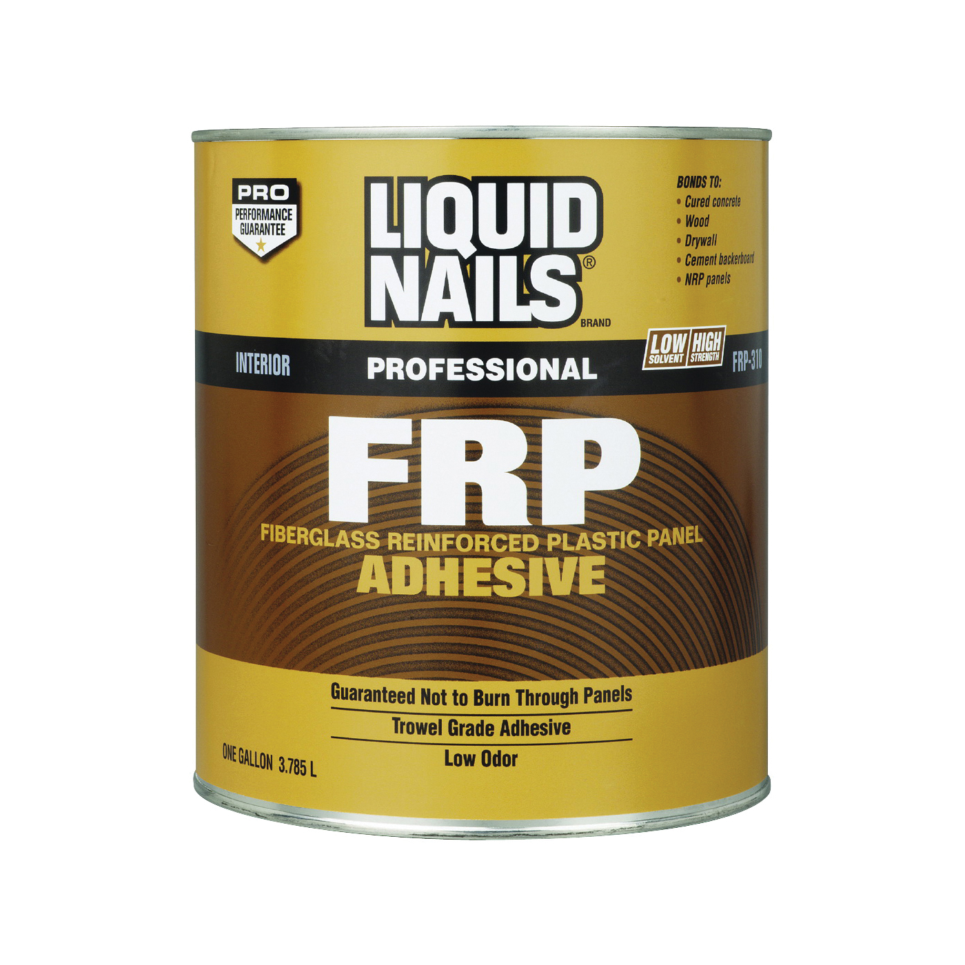 Picture of Liquid Nails FRP-310 Panel Adhesive, Off-White, 1 gal Package, Container