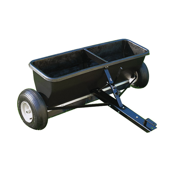 Picture of AGRI-FAB 45-0288 Tow Drop Spreader, Steel Frame, Poly Hopper, Pneumatic Wheel