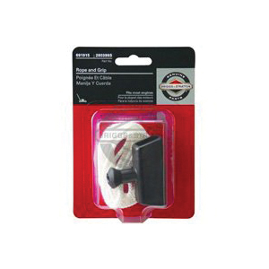 Picture of BRIGGS & STRATTON 5042K Pull Rope and Handle Grip, Nylon/Rubber, For: 2 to 4 hp Briggs & Stratton Engines