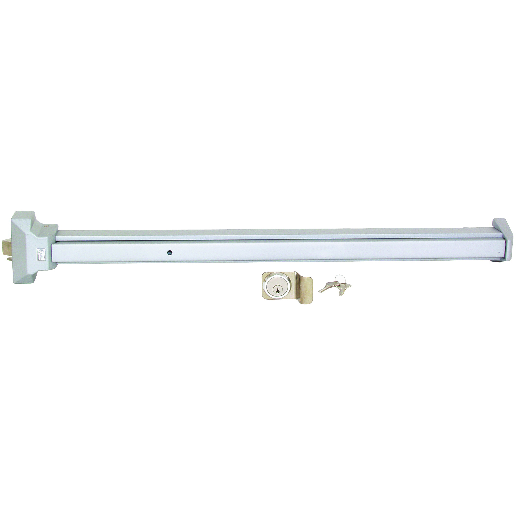 Picture of ProSource 8000-80NLS-AS Panic Bar, Duranodic Aluminum, 1-3/4 in Thick Door