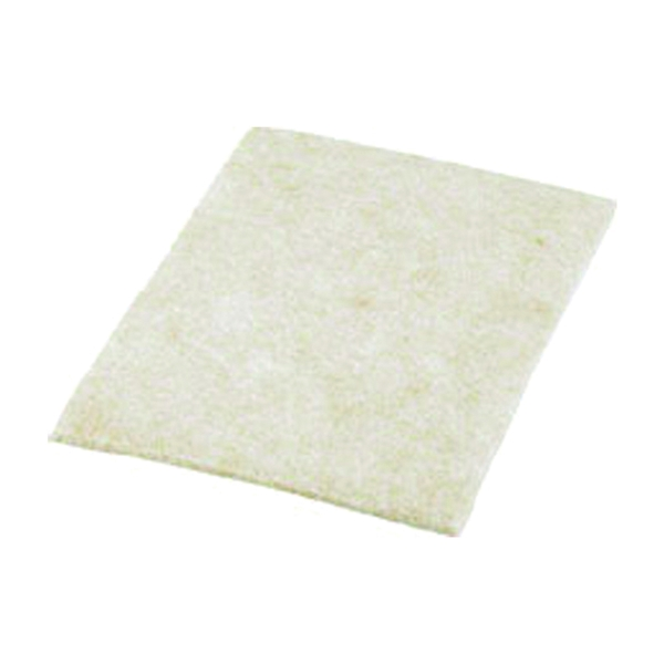 Picture of Shepherd Hardware 9950 Protective Blanket, Felt Cloth, Beige, 6 in L, 4-1/4 in W, 3/16 in Thick, Rectangular
