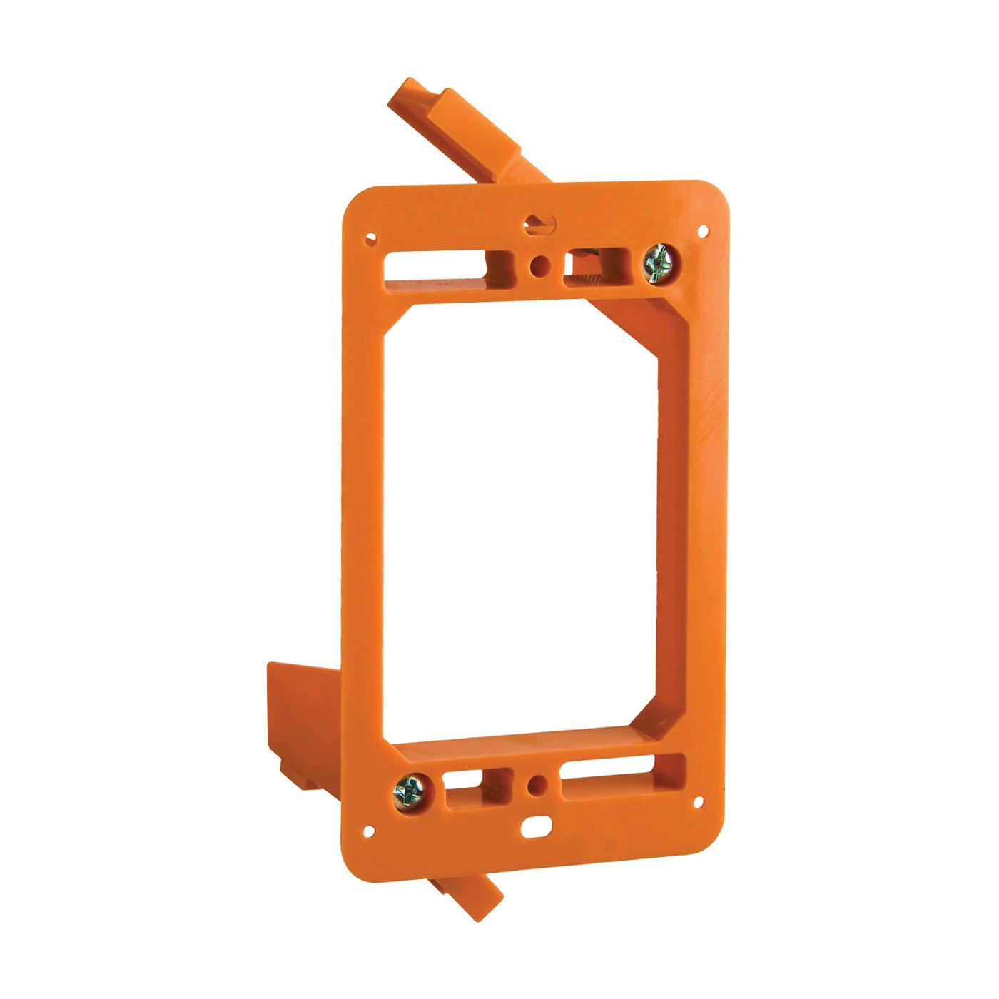 Picture of Carlon SC100RR Outlet Box, 4.32 in L, 2.52 in W, 1-Gang, Non-Metallic, Orange