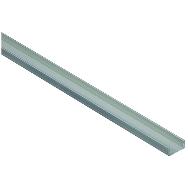 Picture of Stanley Hardware 4208BC Series 342261 Channel, 48 in L, 1/16 in Thick, Aluminum, Mill