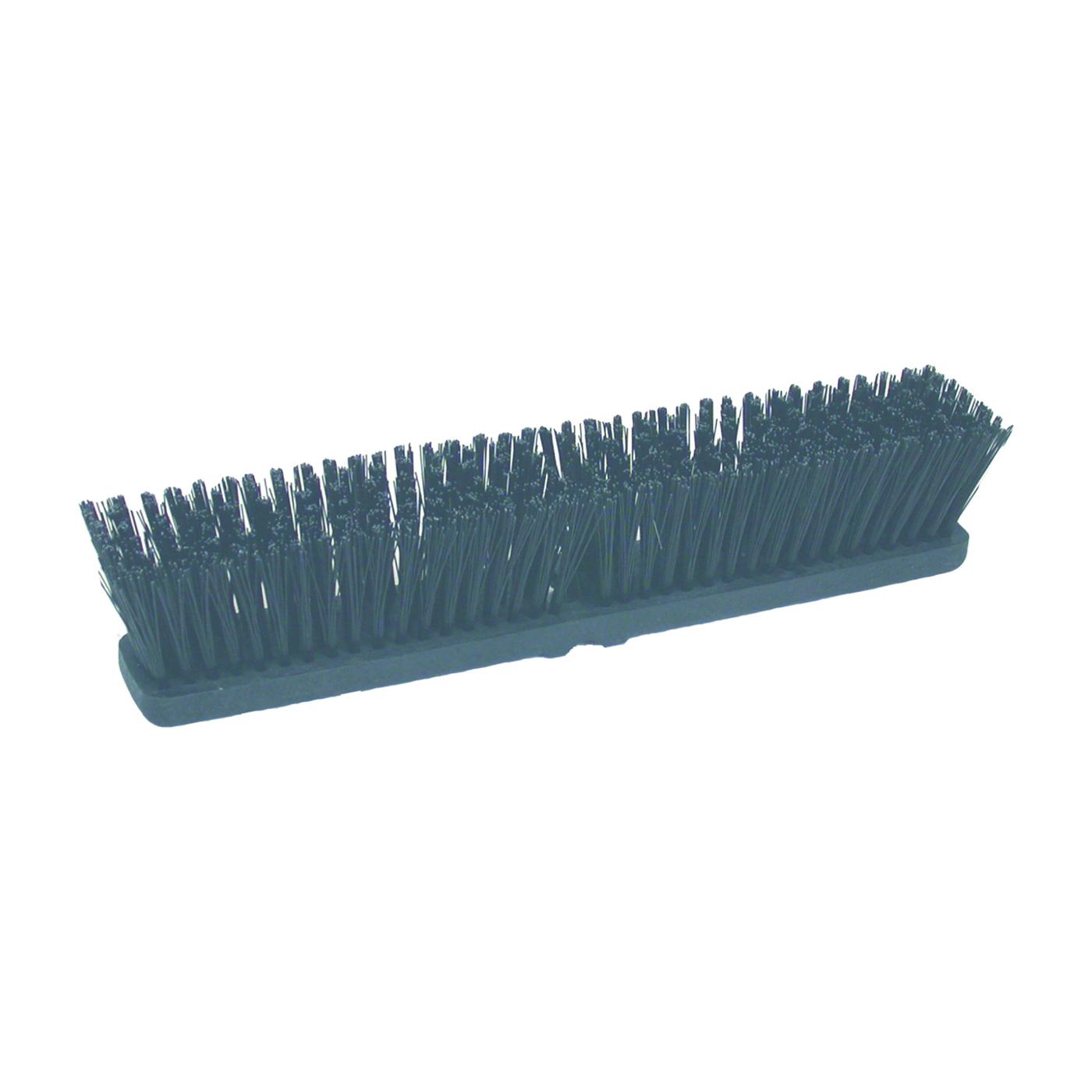 Picture of BIRDWELL 2021-12 Broom Head Threaded, Threaded, 3 in L Trim, Polystyrene Bristle, Black