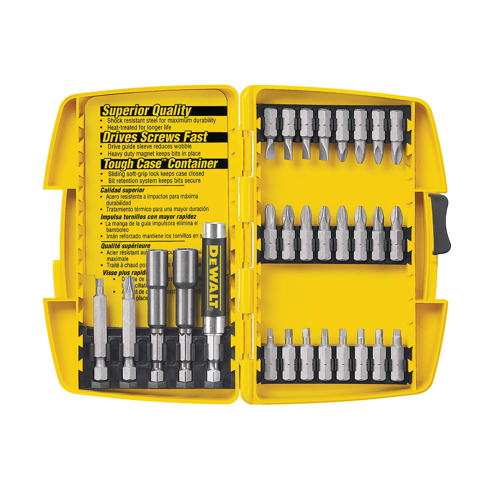 Picture of DeWALT DW2162 Screwdriving Set, Steel