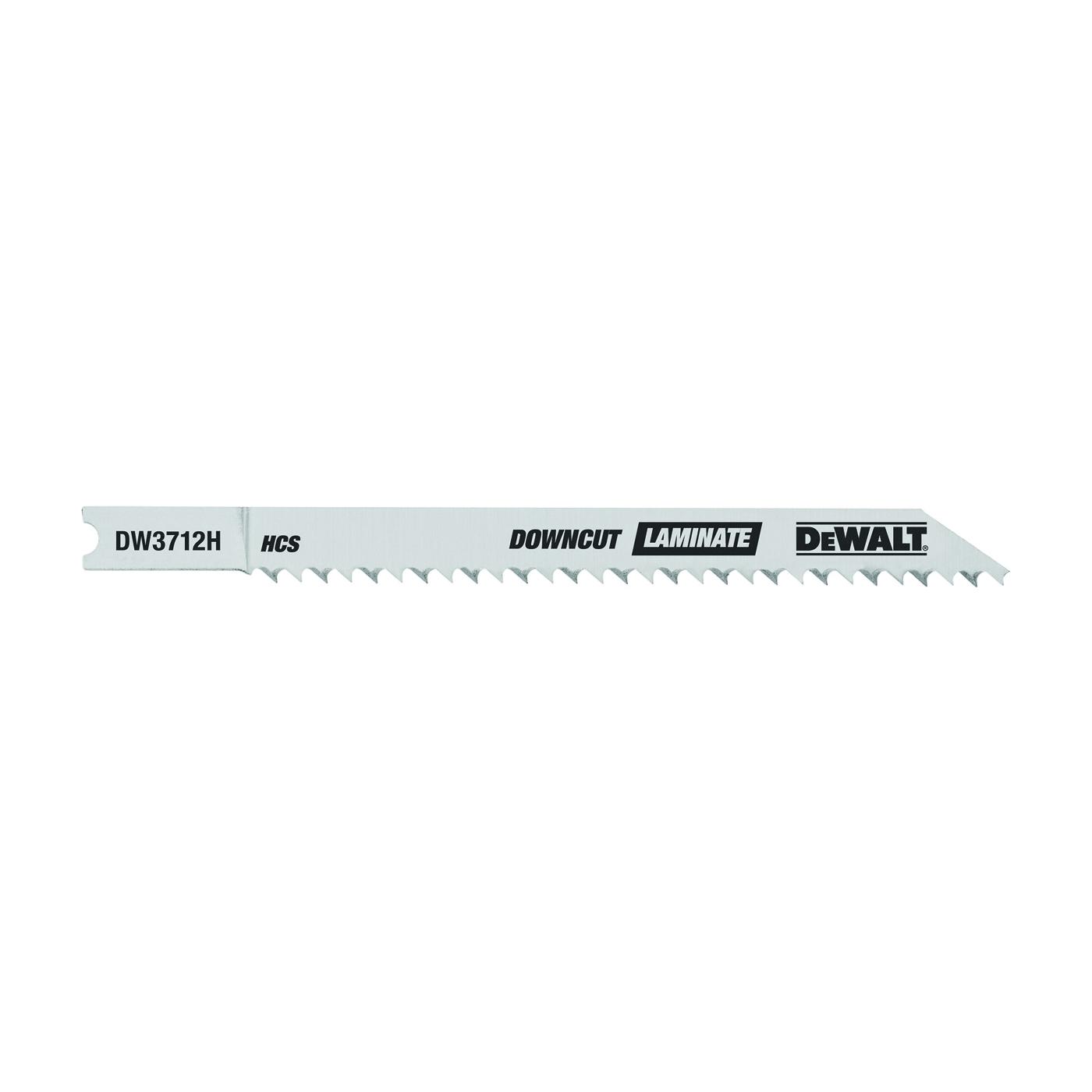 Picture of DeWALT DW3712H Jig Saw Blade, 1/4 in W, 4 in L, 10 TPI