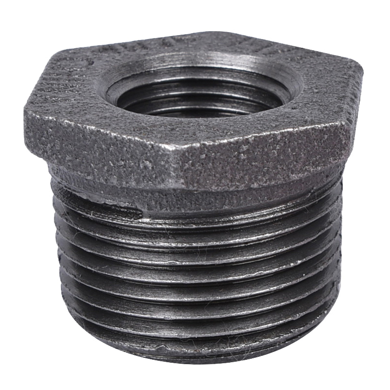 Picture of ProSource 35-1X1/2B Black Bushing, 1 x 1/2 in, MIP x FIP