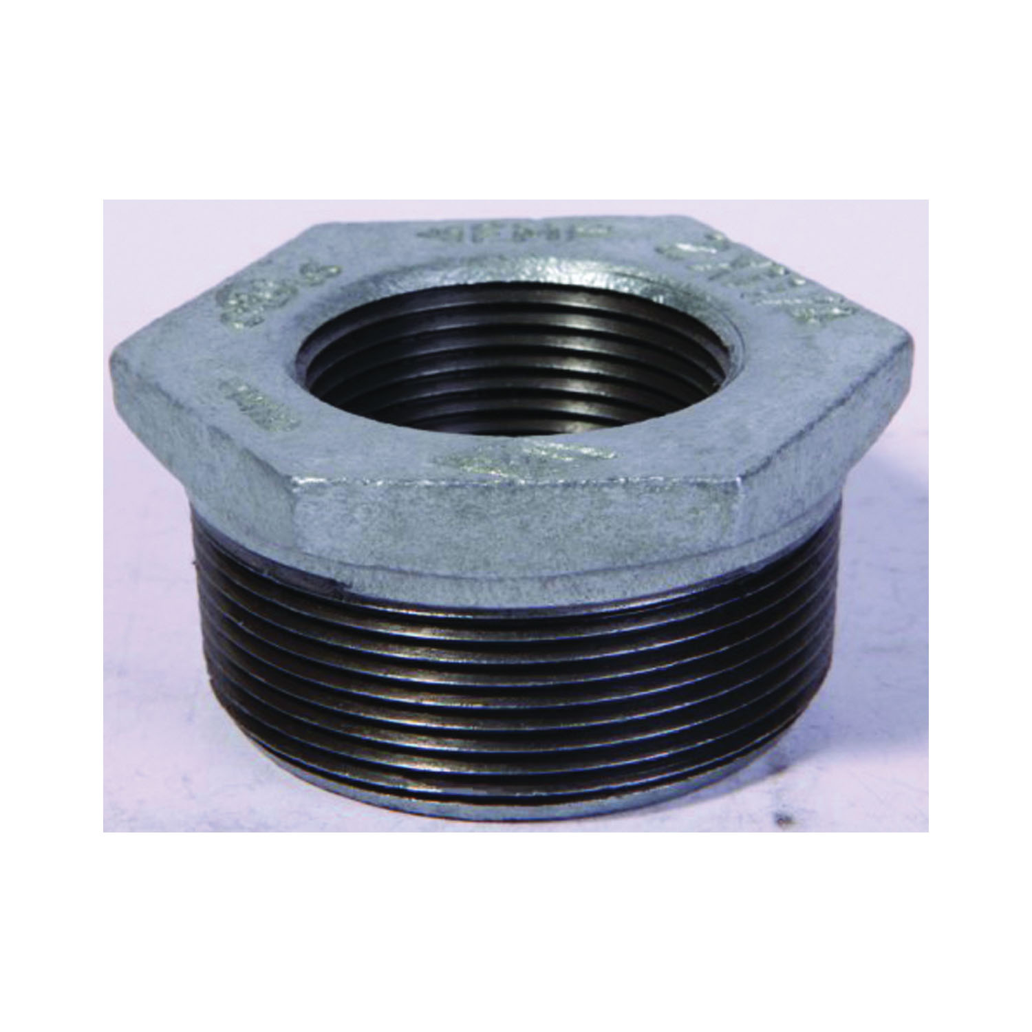 Picture of ProSource 35-1/2X3/8G Galvanized Bushing, 1/2 x 3/8 in, MIP x FIP
