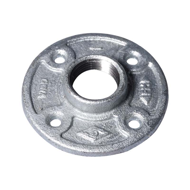 Picture of ProSource 27-1G Galvanized Floor Flange, 1 in, Malleable Iron