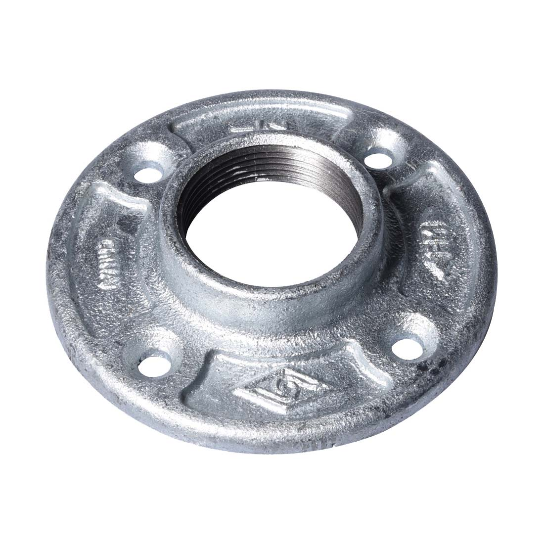 Picture of ProSource 27-11/2G Galvanized Floor Flange, 1-1/2 in, Malleable Iron