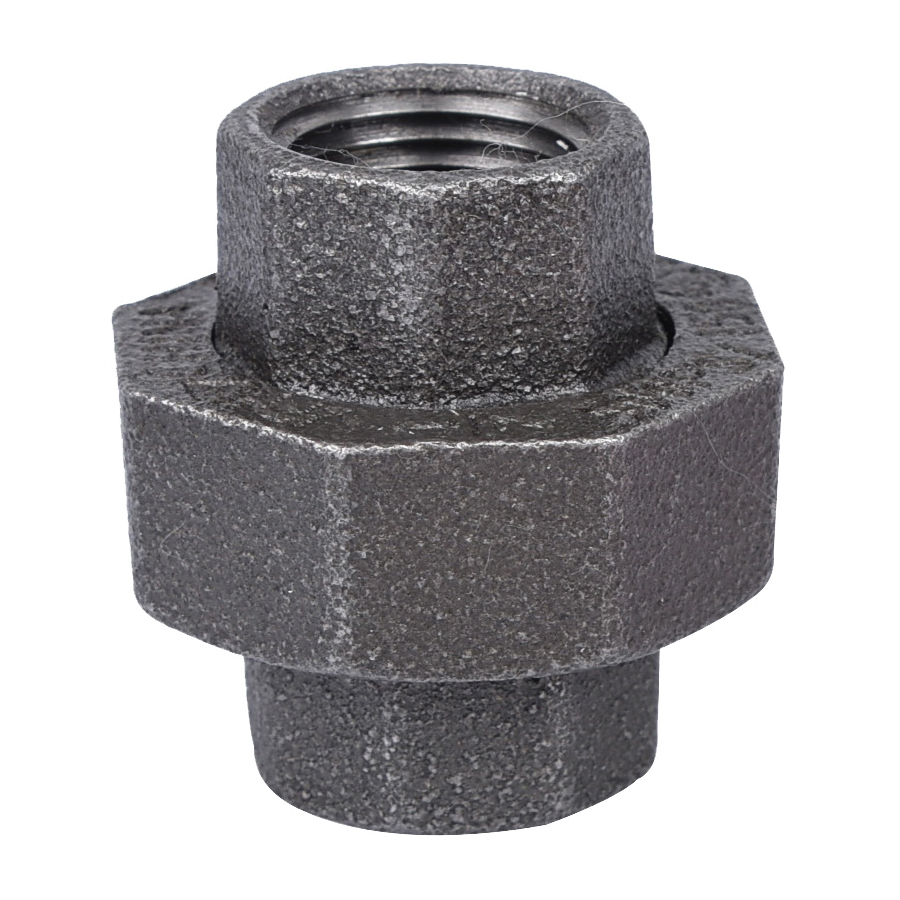 Picture of ProSource 34B-1/2B Black Union, 1/2 in, Threaded, 150 psi Pressure