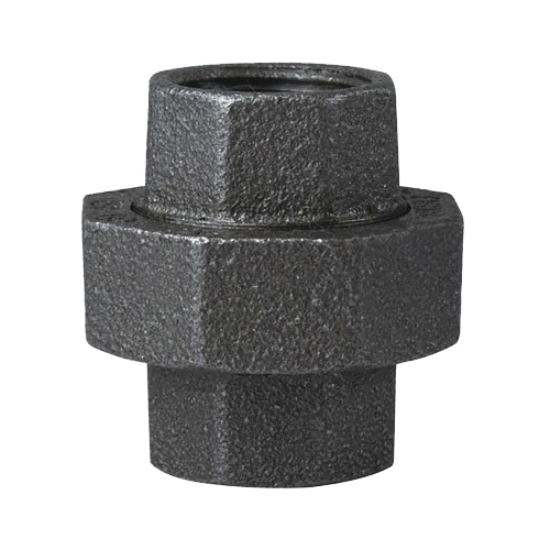 Picture of ProSource 34B-3/4B Black Union, 3/4 in, Threaded, 150 psi Pressure
