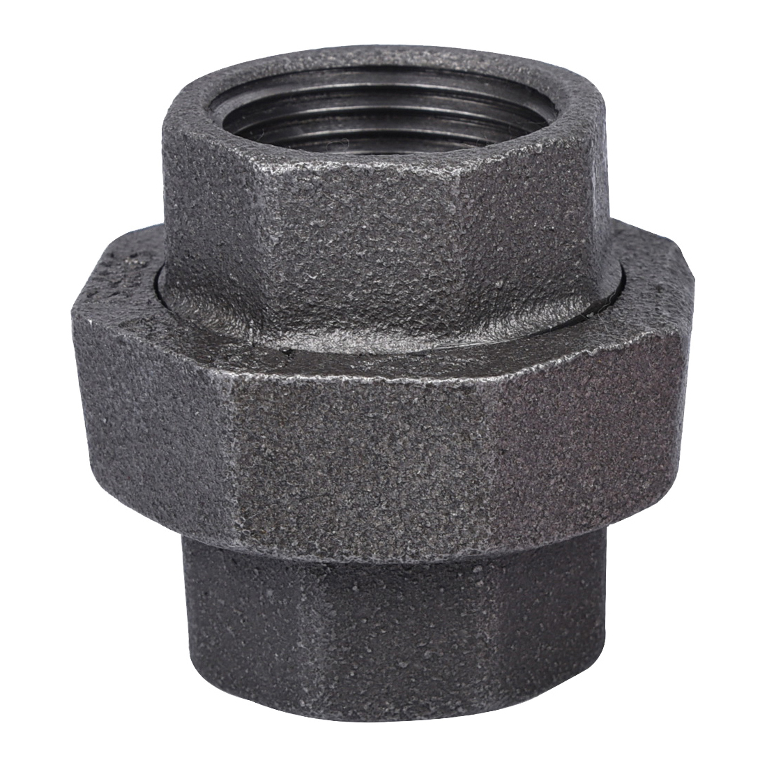 Picture of ProSource 34B-1B Black Union, 1 in, Threaded, 150 psi Pressure