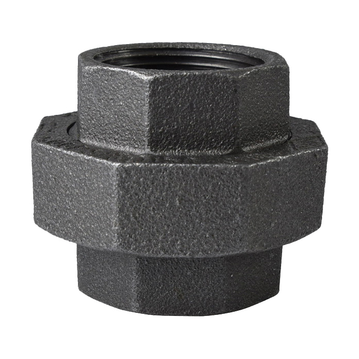 Picture of ProSource 34B-1-1/4B Black Union, 1-1/4 in, Threaded, 150 psi Pressure