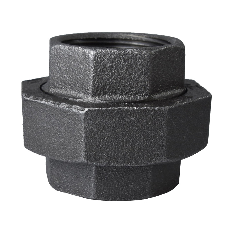 Picture of ProSource 34B-1-1/2B Black Union, 1-1/2 in, Threaded, 150 psi Pressure