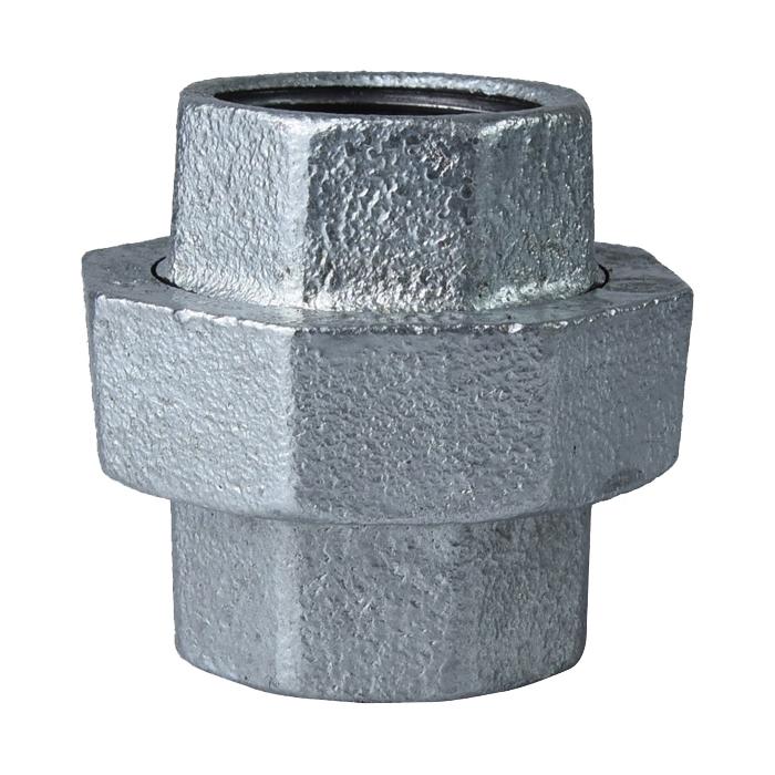 Picture of ProSource 34B-1-1/2G Galvanized Union, 1-1/2 in, Threaded, 150 psi Pressure