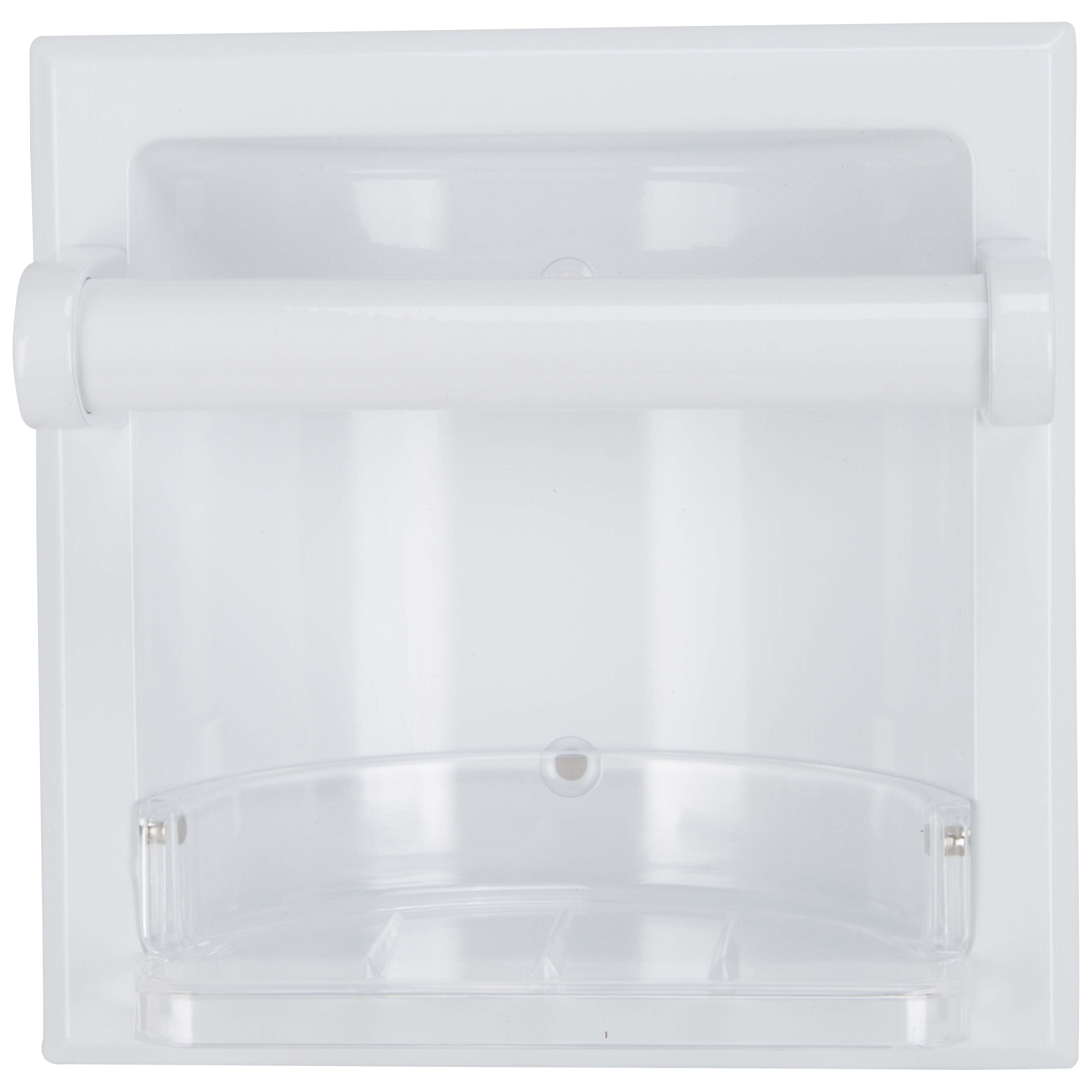 Picture of Boston Harbor L770H-51-07 Soap Dish, Recessed Mounting, White