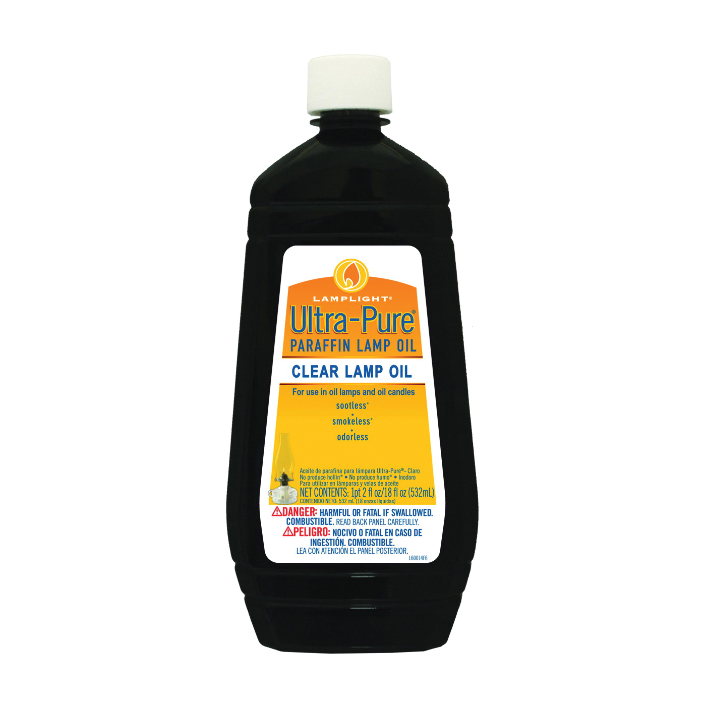 Picture of Lamplight 60014 Odorless Sootless Smokeless Lamp Oil, Odorless, Sootless, Smokeless