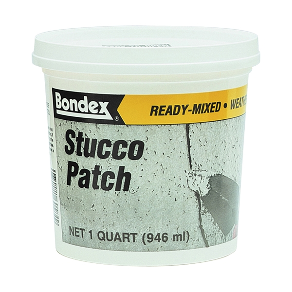 Picture of ZINSSER 60584 Ready-Mixed Stucco Patch, 1 qt Package, Pail