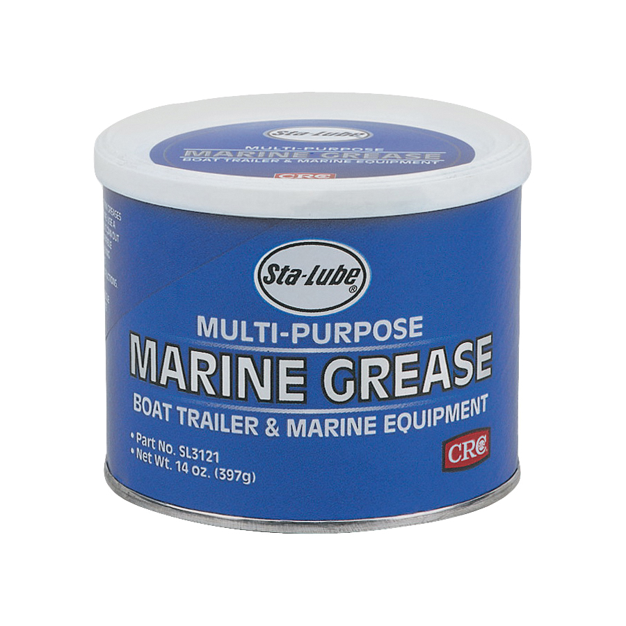 Picture of Sta-Lube SL3121 Marine Grease, 14 oz Package, Can, Mild Petroleum, Blue