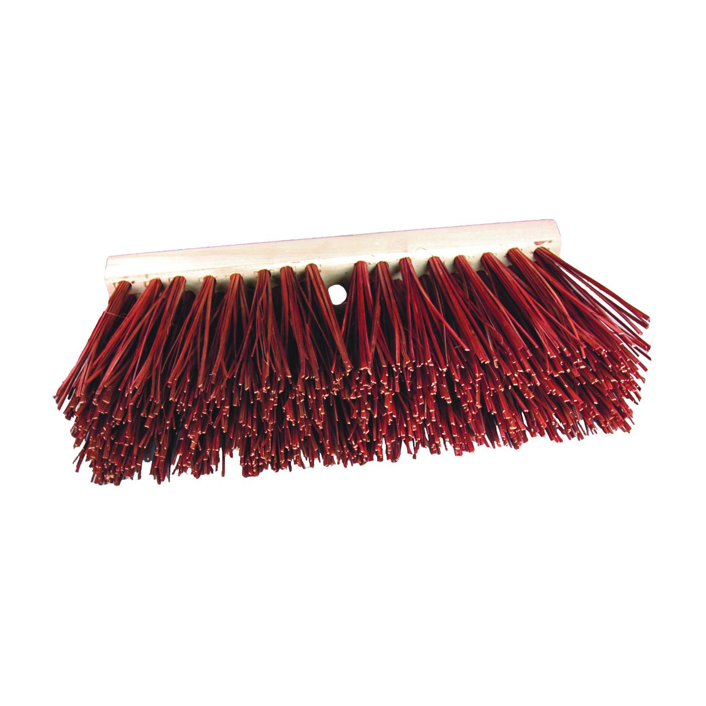 Picture of BIRDWELL 3016-6 Street Broom Head, 6-1/4 in L Trim, Palmyra Stalk Fiber Bristle
