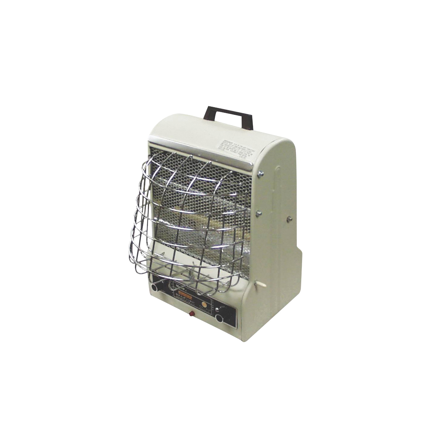 Picture of TPI 198 TMC Electric Heater, 5/7.5/12.5 A, 120 V, 600/900/1500 W, 3-Heating Stage, White