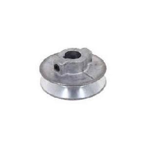 Picture of CDCO 150A V-Grooved Pulley, 1-1/2 in OD, 1-1/2 in Dia Pitch, 1/2 in W x 11/32 in Thick Belt, Zinc