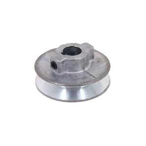 Picture of CDCO 200A-1/2 V-Grooved Pulley, 2 in OD, 1-3/4 in Dia Pitch, 1/2 in W x 11/32 in Thick Belt, Zinc