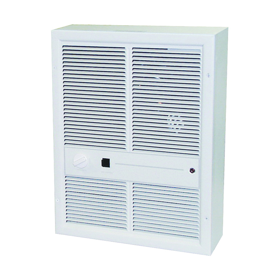 Picture of TPI HF3316TRP Heater, 14.4/16.6 A, 208/240 V, 6868 to 13648 Btu, 175 cfm Air, Ivory