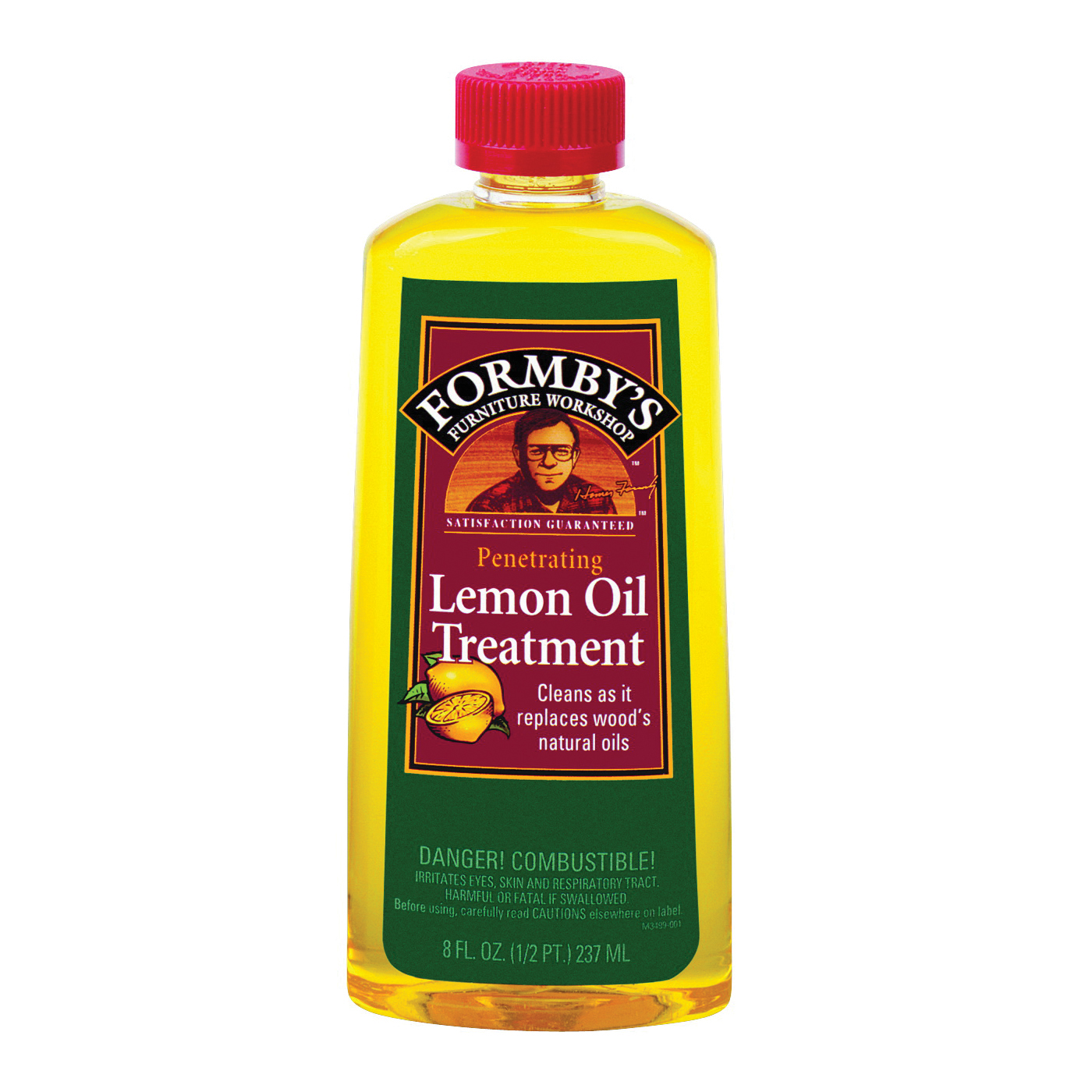 Picture of Formby's 30015000 Furniture Treatment, 8 oz, Liquid, Lemon