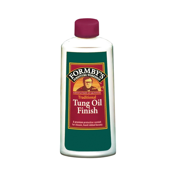 Picture of Minwax 30066000 Tung Oil Finish, High-Gloss, Amber, Liquid, 8 oz, Can