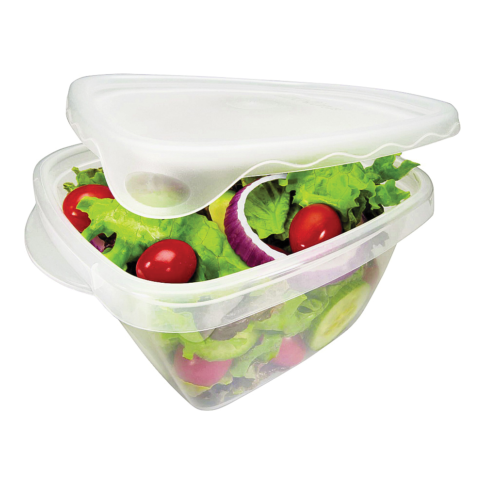 Picture of Rubbermaid Take Alongs 7F54RETCHIL Food Storage Container Set, 5.2 Cups Capacity, Clear