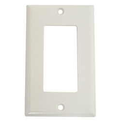Picture of Arrow Hart 2151 Series 2151W-BOX Wallplate, 4-1/2 in L, 2-3/4 in W, 1-Gang, Thermoset, White, High-Gloss