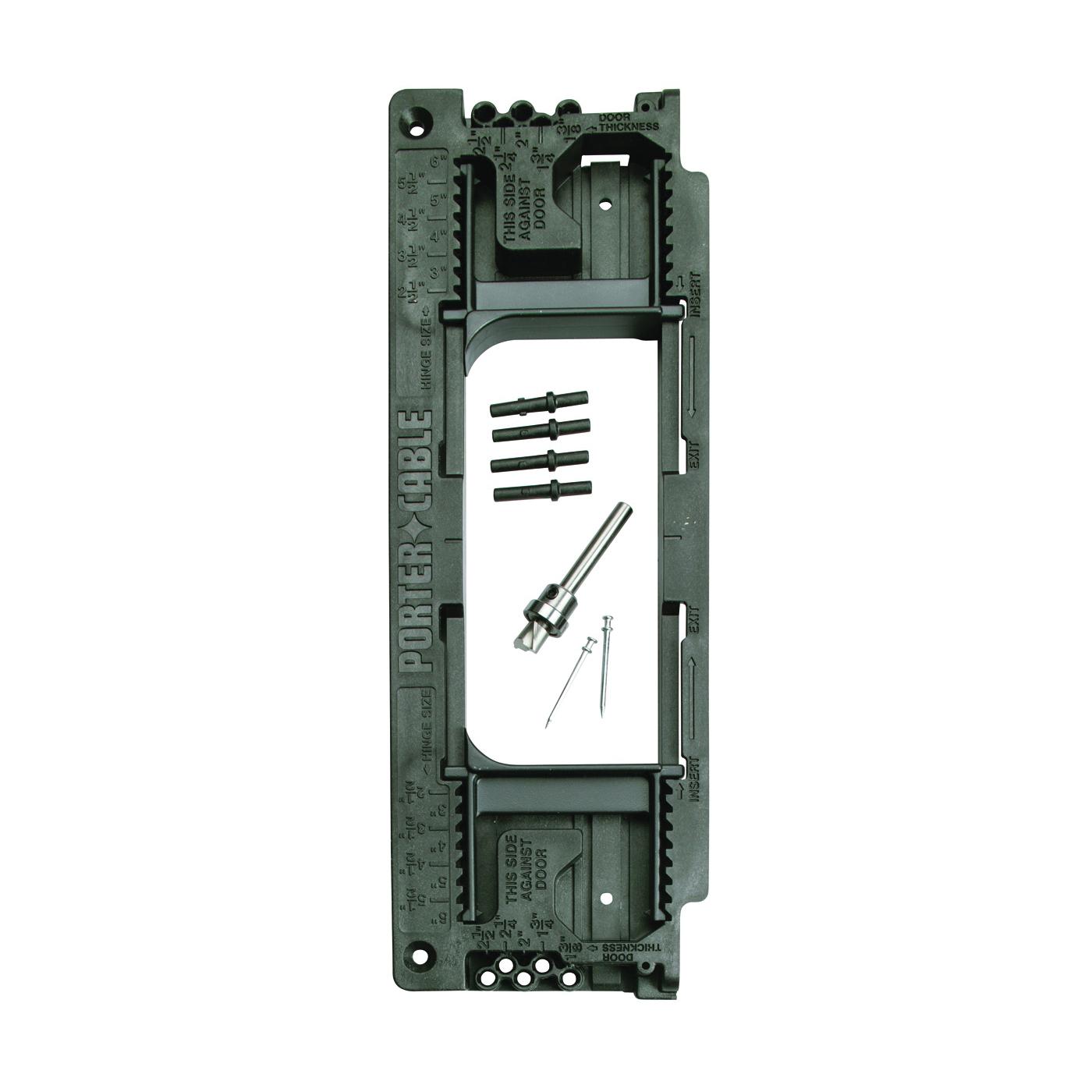Picture of PORTER-CABLE 59370 Door Hinge Template, Plastic/Steel
