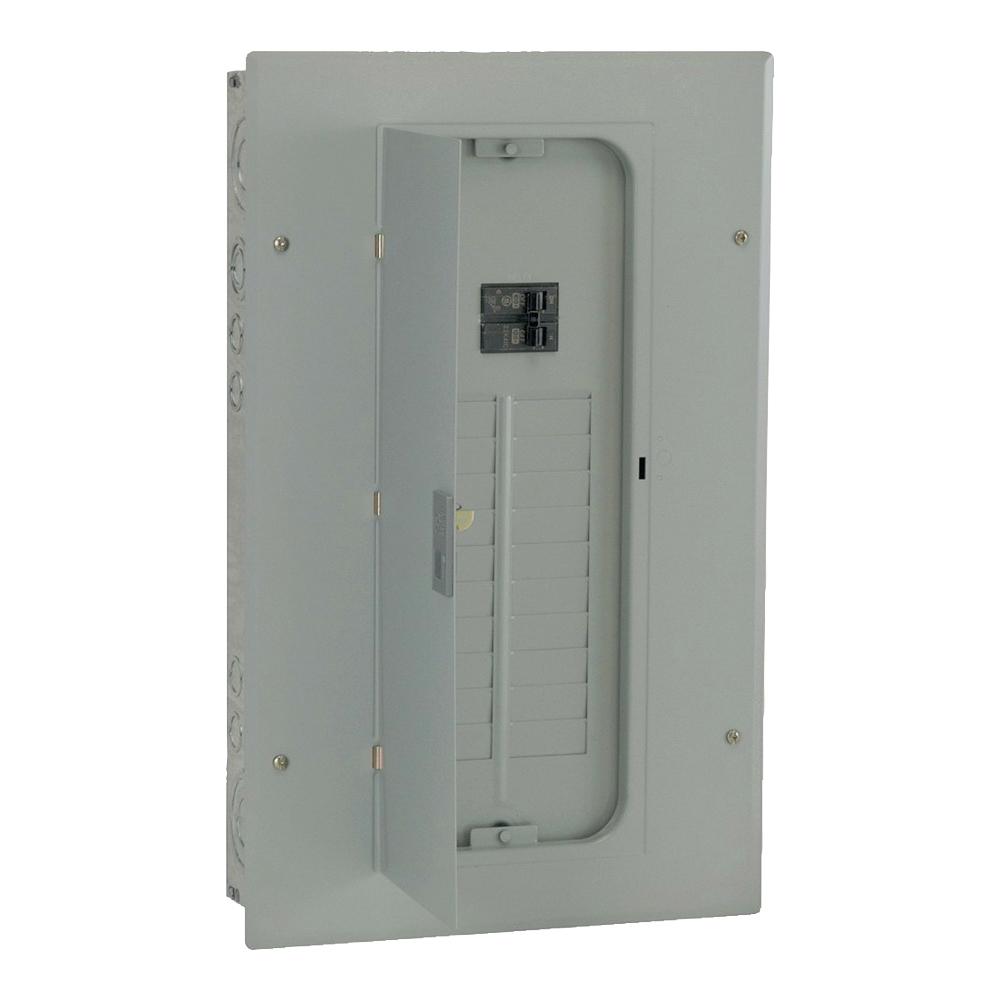 Picture of GE Industrial Solutions TM2010CCU Loadcenter, 100 A, NEMA 1 Enclosure, Flush, Surface Mounting