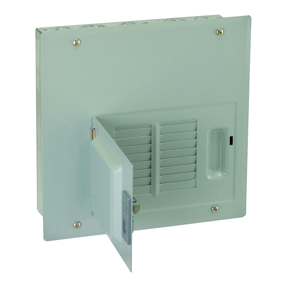 Picture of GE Industrial Solutions PowerMark Gold TLM Series TLM812FCUDP Load Center, 125 A, 8-Space, 16-Circuit, Main Lug