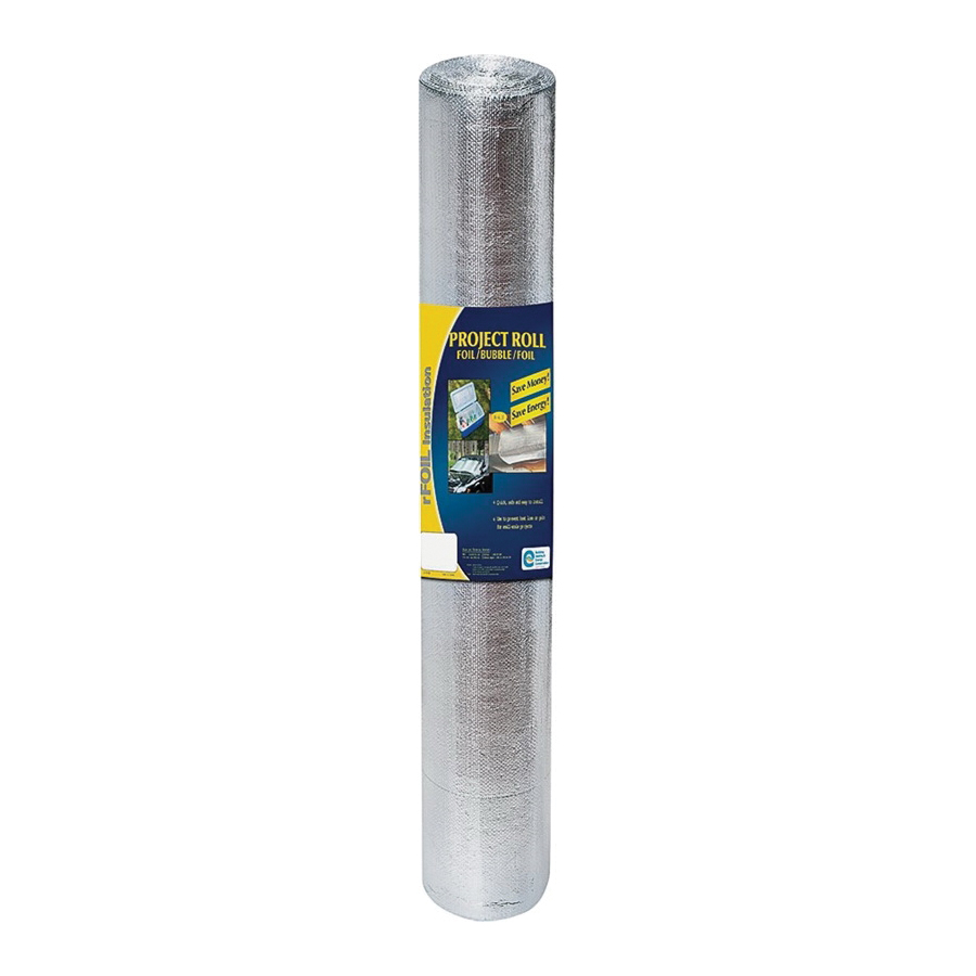 Picture of TVM 2220-48-10 Construction Insulation, 10 ft L, 48 in W, Aluminum/Polyethylene