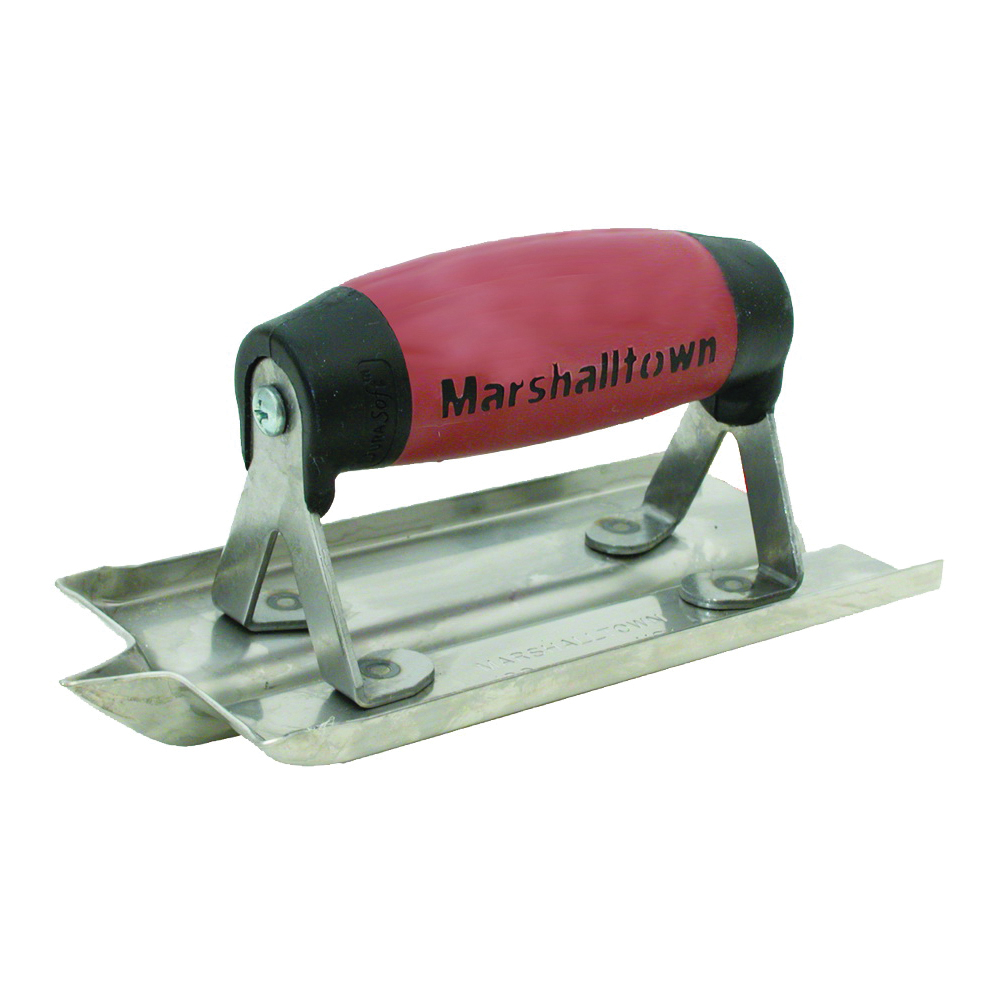 Picture of Marshalltown 180D Hand Groover, 6 in L Blade, 3 in W Blade, 1/4 in Radius, Stainless Steel Blade
