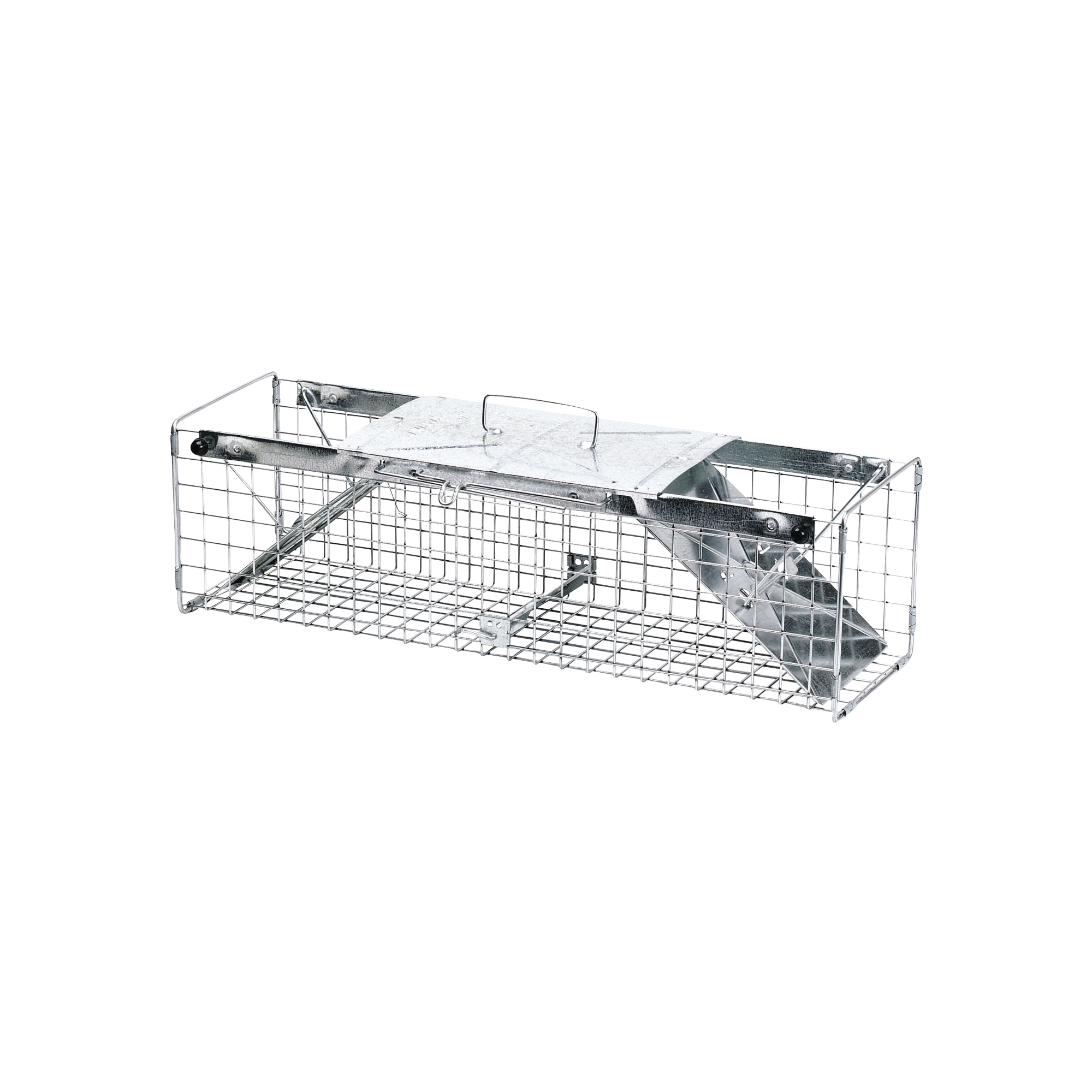 Picture of Victor 1030 Animal Trap, 7 in W, 7 in H, Spring-Loaded Door