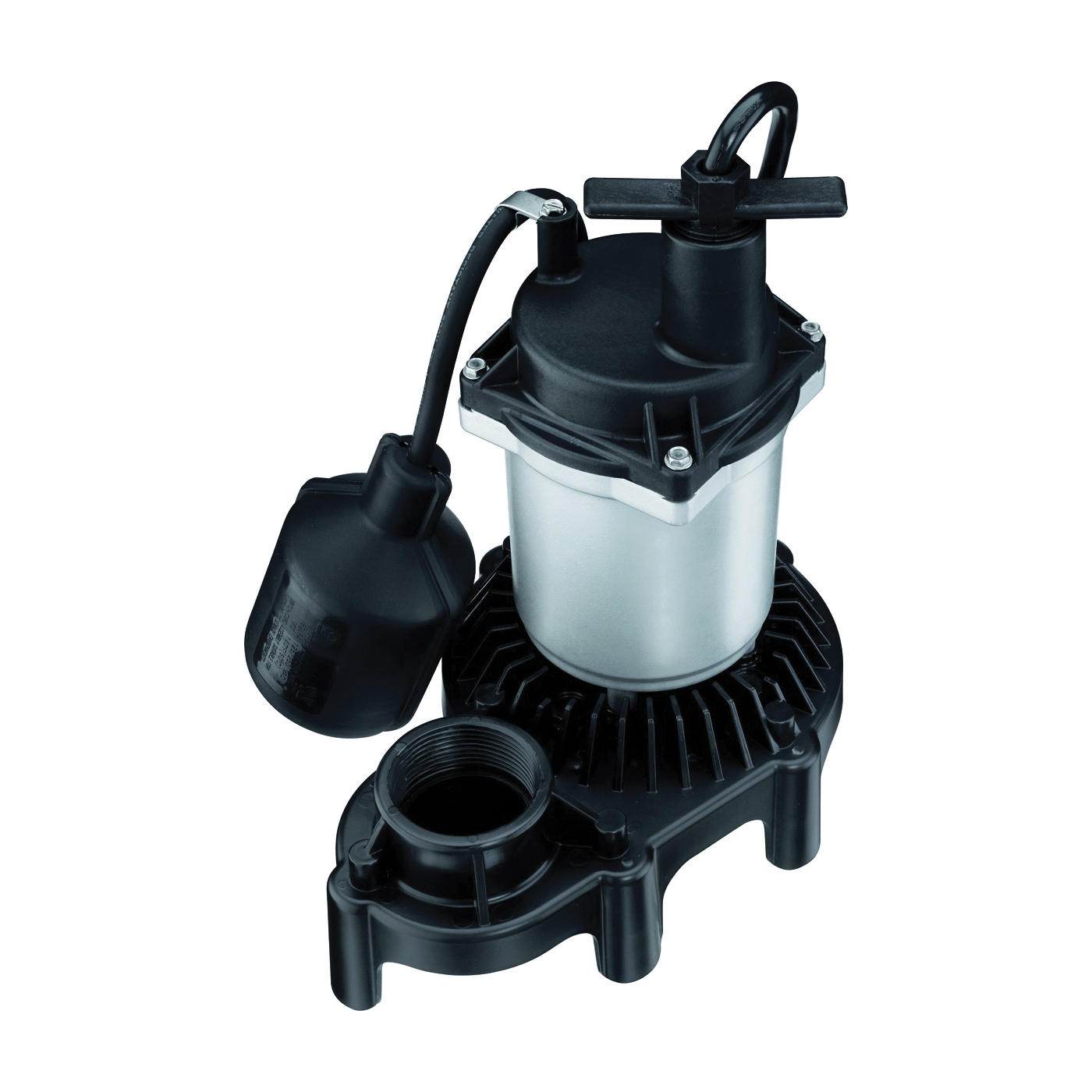 Picture of Sta-Rite Simer 2163 Sump Pump, 1-Phase, 3.9 A, 115 V, 0.33 hp, 1-1/2 in Outlet, 22 ft Max Head, 660 gph