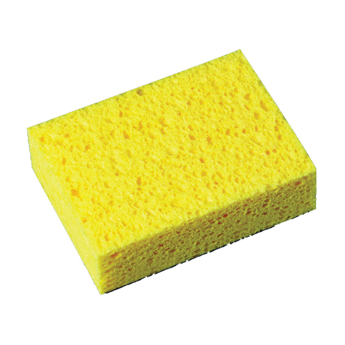 Picture of Scotch-Brite 7449-T Commercial Sponge, 6 in L, 4-1/4 in W, 1.6 in Thick, Cellulose, Yellow