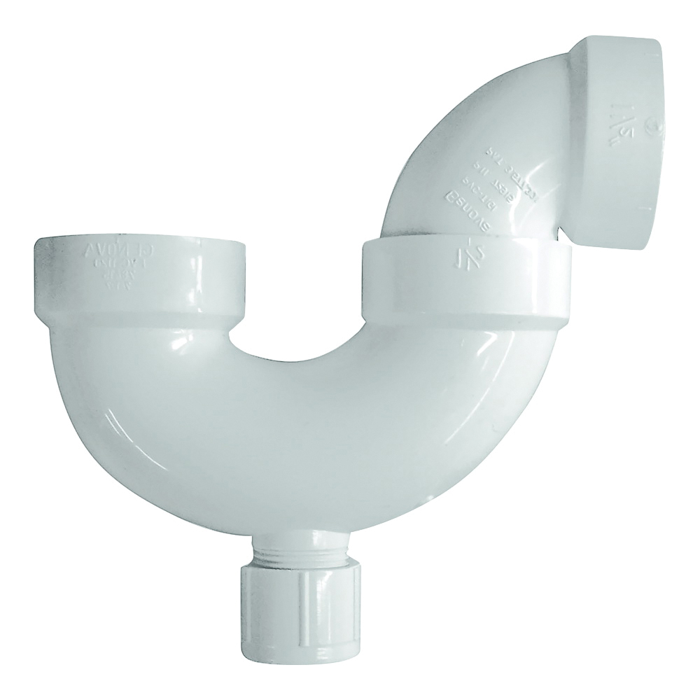 Picture of GENOVA 700 Series 78415 P-Trap with Cleanout, 1-1/2 in, PVC, SCH 40 Schedule
