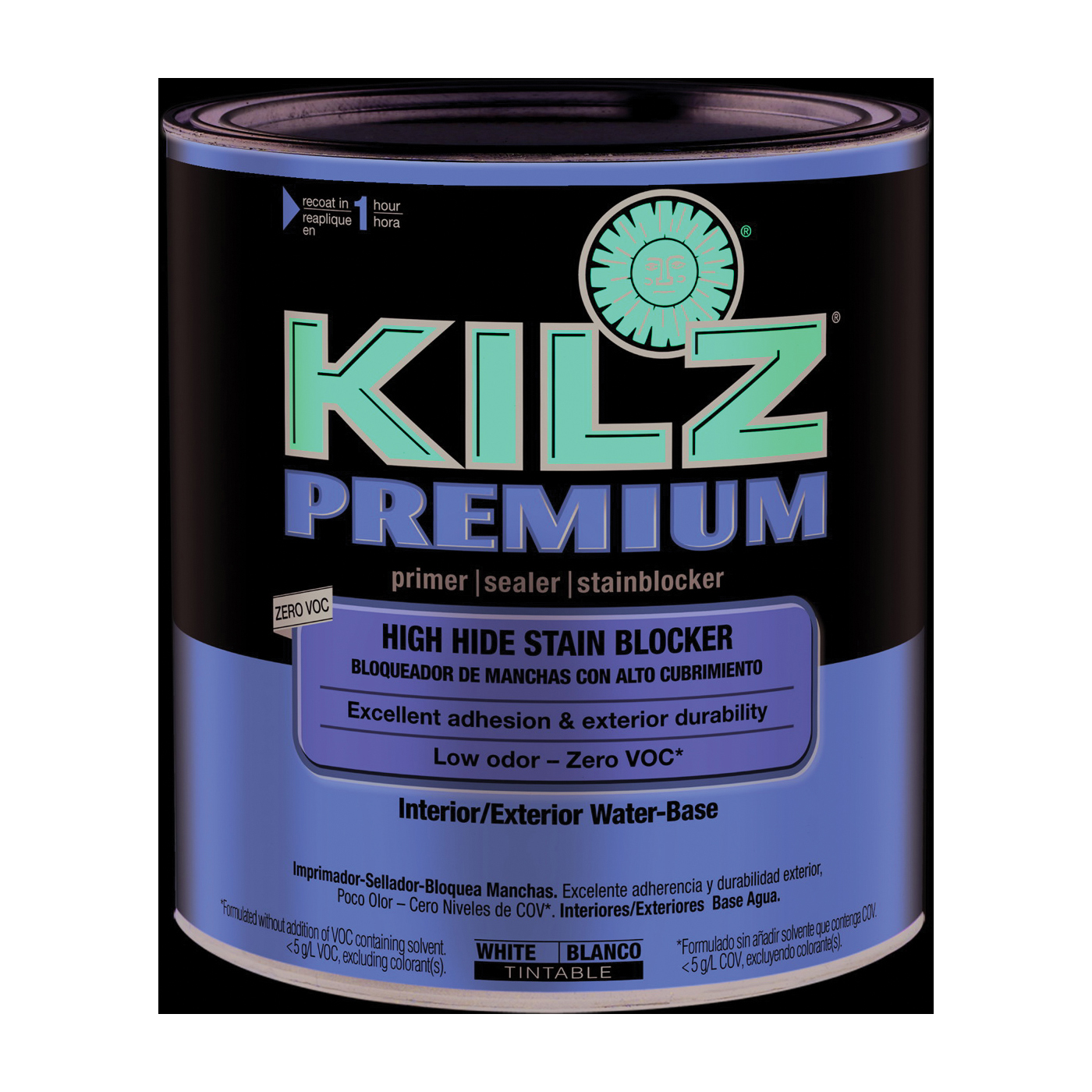Picture of Kilz 13002 Primer, Thick, White, 1 qt, Can